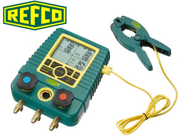 REFCO Digimon with Clamp & Case