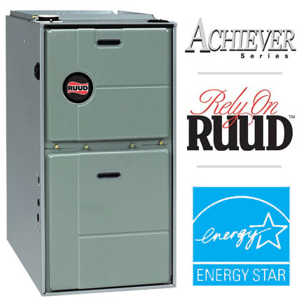Ruud RGRL Achiever Series 90+ 2-Stage Gas Furnace