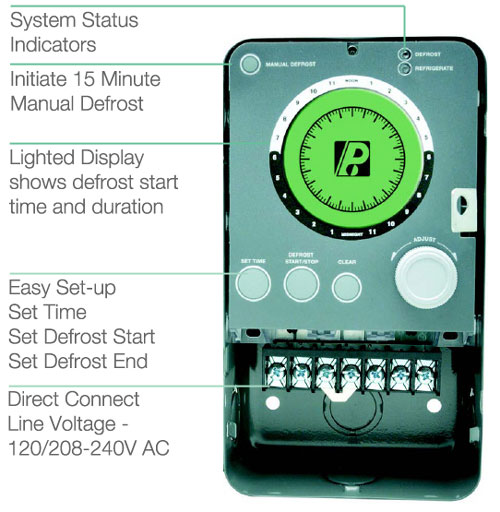 Paragon Commercial Defrost Controls 9000 Series