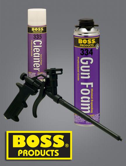 Boss Gun Minimal Expanding Gun Foam & Cleaner