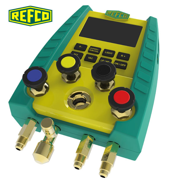 Refco Digimon SE 4 - 4 Way Manifold