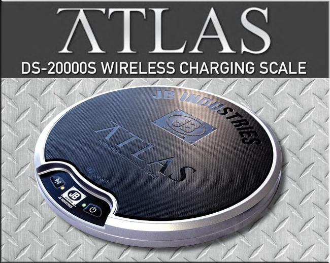 SWH Supply Company | JB Atlas Wireless Charging Scale