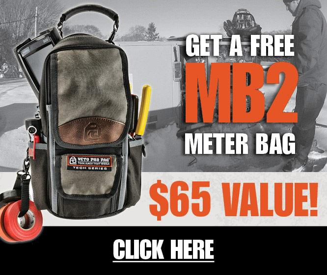 Free Veto Pro Pac MB2 Meter Bag