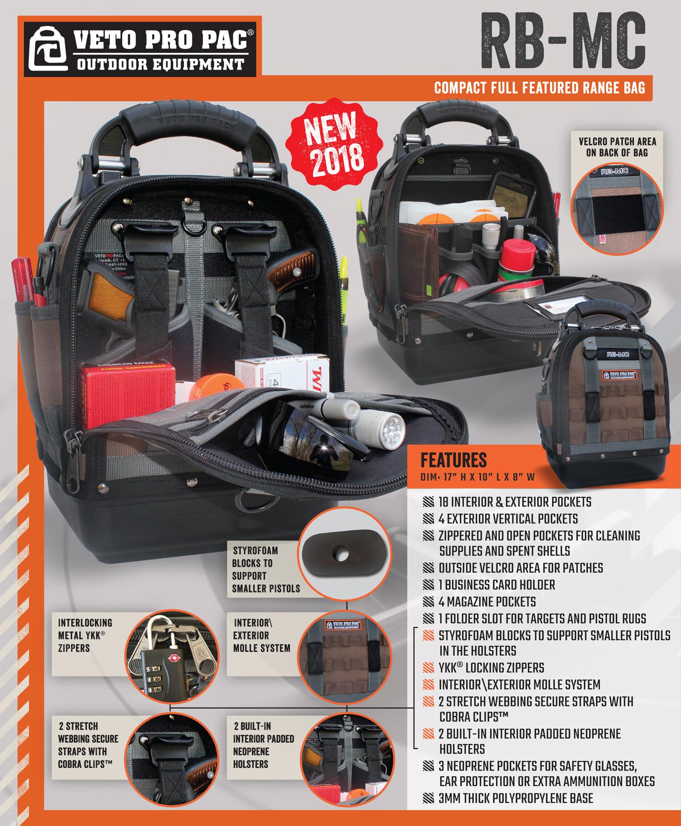 Swh Supply Company Veto Pro Pac Rb Mc Range Bag
